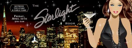Between the STARS & CABLE CARS @ STARLIGHT ROOM BY...