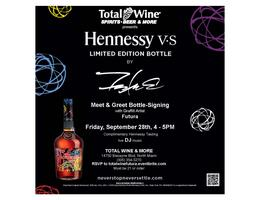 Futura Hennessy VS Limited Edition Bottle Signing