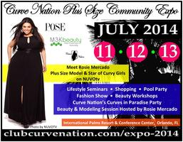 Curve Nation Plus Size Expo 2014 hosted by Rosie...