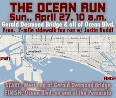 FREE: Sun., Apr. 27: 7-mile run on Ocean Blvd. +...
