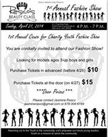 1st Annual Youth Charity Fashion Show