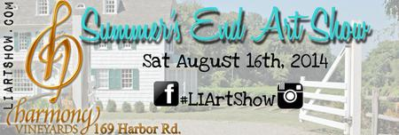 Summer's End ART Show at Harmony Vineyards