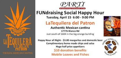 FUNdraiser Social Happy Hour at La Tequilera