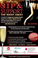 """Sip & Support the Night Away"""
