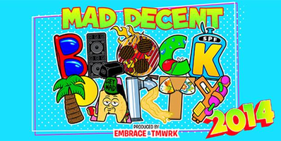 Mad Decent Block Party New Orleans