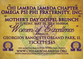 "2014 Omega Psi Phi's ""Women of Excellence"" Mother's..."
