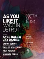 As You Like It Presents Made In Detroit