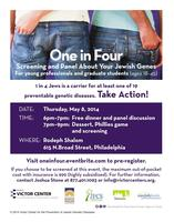 One in Four: Screening and Panel About Your Jewish...