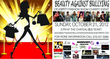 Beauty Against Bullying Celebrity Fashion Show &...