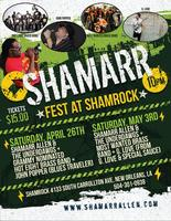 Shamarr at Shamrock - Second Saturday of Jazz Fest...