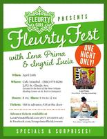 "Fleurty Girl Presents ""Fleurty Fest"" with Lena Prima..."