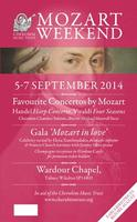 Cherubim Trust Mozart Weekend - Saturday 6 Sep