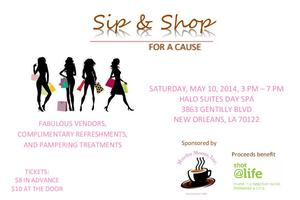 Sip & Shop For a Cause