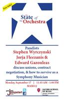 The State of the Orchestra