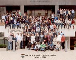 HSPH Class of 2014 Photo with Dean Julio Frenk