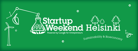 Startup Weekend Helsinki: Sustainability - May 9-11
