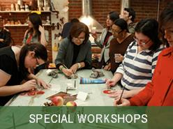 Special Workshops- scroll to bottom for photos and...