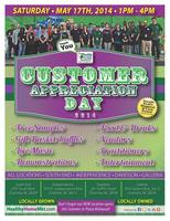 Customer Appreciation Day - All Four Locations