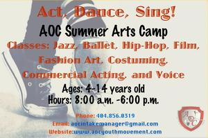 Dance Camp! Ages 4 - 14 Years Old!