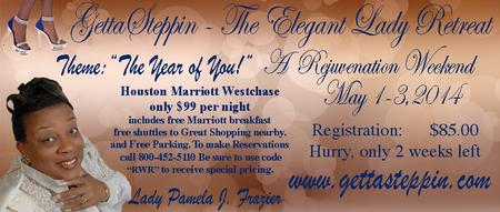 GettaSteppin, Inc., The Elegant Lady Retreat - A...