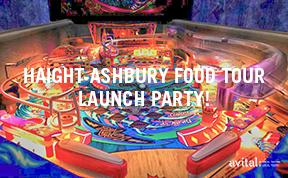 Eat Your Drink Pinball Pop Up I Haight-Ashbury Food...