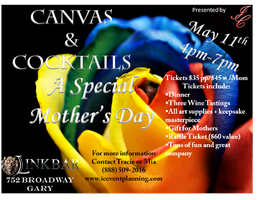 ICEPP Presents Canvas&Cocktails A Mother's Day Special