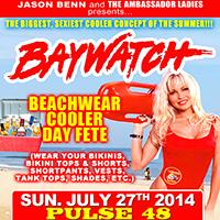 BAY WATCH COOLER DAY FETE