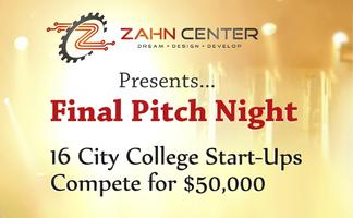 Zahn Final Pitch Night - The City College of New York