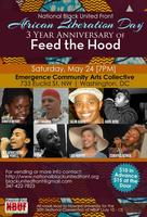 Feed the Hood 3 Year Anniversary