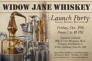WIDOW JANE WHISKEY LAUNCH PARTY *RAIN OR SHINE*