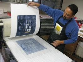 Monotype Printmaking with Instructor  Virginia Zimmerma...