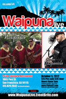 Waipuna LIVE with special guest Steven Espaniola