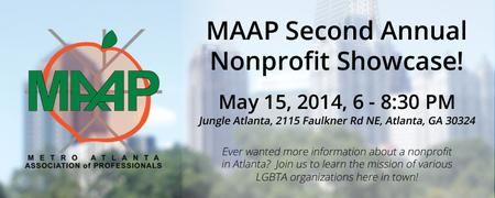 MAAP Gives Back - A Nonprofit Showcase