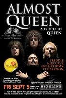 "Almost Queen: A Tribute to Queen - ""Freddie For A Day""..."