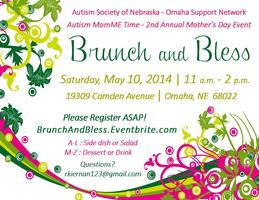 Autism MomME Brunch & Bless Mother's Day Event