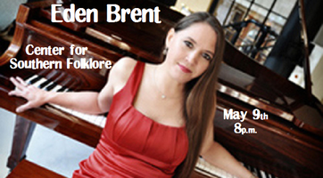 Eden Brent - Blues Piano @ Center for Southern Folklore