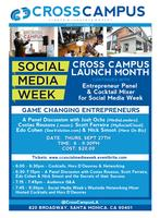 Game Changing Entrepreneurs - A Panel Discussion