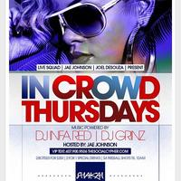 In Crowd Thursdays |LADIES FREE ALL NIGHT