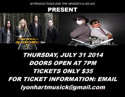 Stryper and Lyonhart at The Whiskey A Go Go