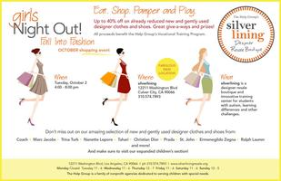 Silverlining Designer Resale Girls Night Out