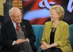 Lynne Cheney and VP Dick Cheney