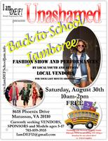UNASHAMED Back to School Jamboree: Vendor and Fashion...
