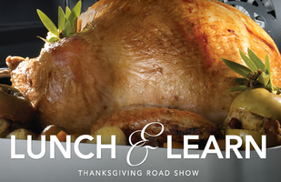 Thanksgiving Cooking Event with Chef Rachelle Boucher...