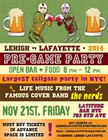 Lehigh Lafayette Pre-Game Party