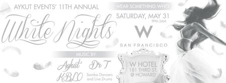 WHITE NIGHTS @ W HOTEL BY AYKUT EVENTS