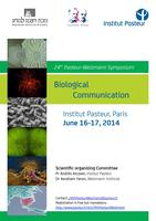 24th Pasteur Weizmann Symposium