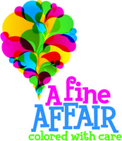 A Fine Affair ~ Colored with Care