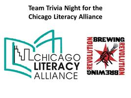 Team Trivia Night for the Chicago Literacy Alliance