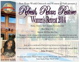 New Hope World Outreach's 1st Annual Women's...