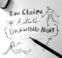 August 21st Eau Claire Artist's Drawing Night